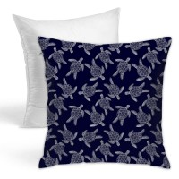 Colorful Turtle Pattern Throw Pillow Covers for Sofa Bedroom , Can be used in children's room 45cm x 45cm