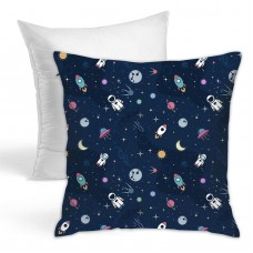 Cute Astronaut Throw Pillow Covers for Sofa Bedroom , Can be used in any room-bedroom 45cm x 45cm