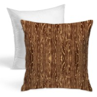Woodgrain Bark Throw Pillow Covers for Sofa Bedroom , Can be used in children's room 45cm x 45cm